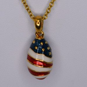 Vintage Joan Rivers Patriotic Egg
